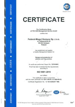 Jakość   ISO 90012015   Certficate2 (1)